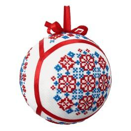 GU 8878 Cross Stitch pattern - Ethnic Christmas ball IV
