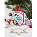 Pattern online - Ethnic Christmas ball II