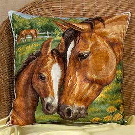 PAPD 1539 Cross stitch set - Horses