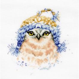 LS B2306 Cross stitch kit - The owl