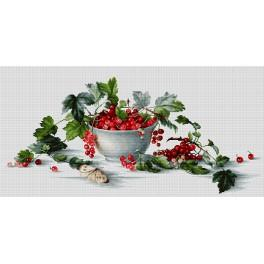LS B2260 Cross stitch kit - Red currants