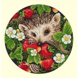 MER K-36 Cross stitch kit - Strawberries