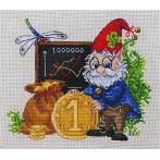 Cross stitch kit - Million