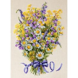 Cross stitch kit - Summer Flowers