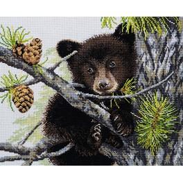 Cross stitch kit - Bear