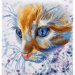 Cross stitch kit - Ginger