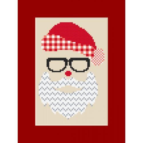 ZUK 8872 Kit with beads - Card - Santa Claus