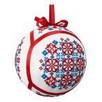 Pattern online - Ethnic Christmas ball IV