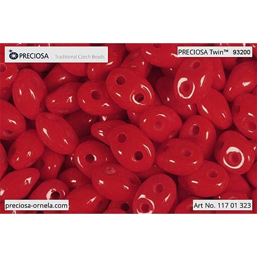 P 93200Twin Preciosa beads Twin (2,5x5mm)