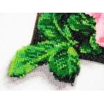 Cross stitch kit and beads - Sunflowers 3D