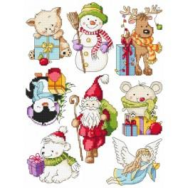 Cross stitch kit - Christmas little patterns