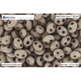 P 03141Twin Preciosa beads Twin (2,5x5mm)