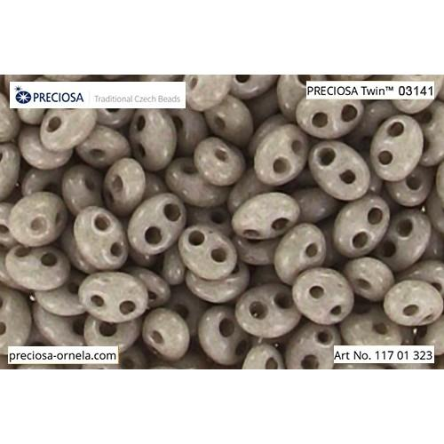 Preciosa beads Twin (2,5x5mm)
