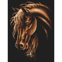 Pattern online - Horse in sepia