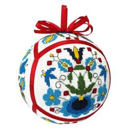 Cross stitch kit - Ethnic Christmas ball II