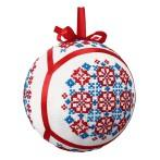Cross stitch kit - Ethnic Christmas ball IV