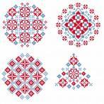 Cross stitch kit - Ethnic Christmas ball IV