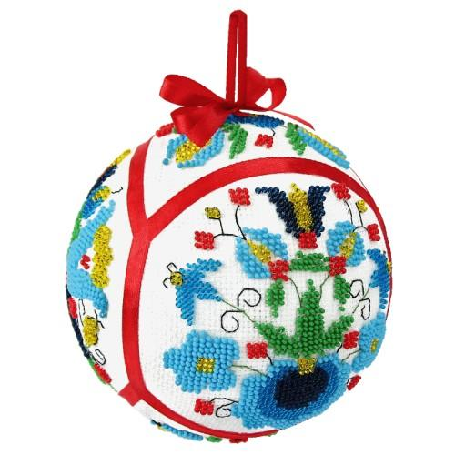 Cross stitch set with beads