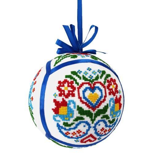 Cross stitch kit - Ethnic Christmas ball III