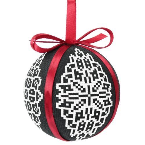 Cross stitch kit - Christmas ball - Lace
