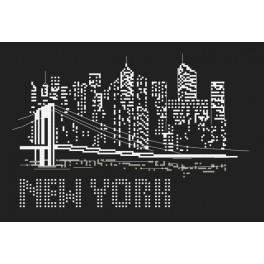 Cross stitch set - Night in New York