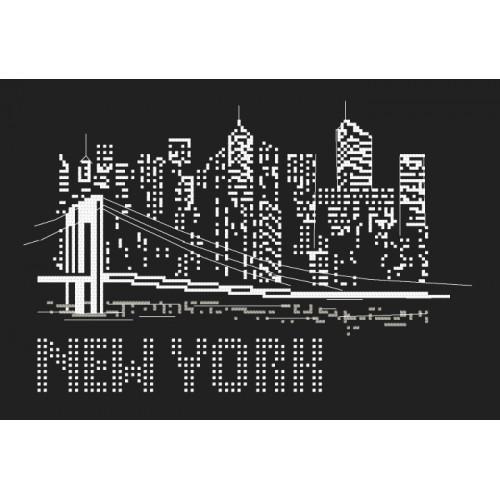 Cross stitch set - Night in New York