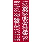 Cross stitch set - Christmas bookmarks I