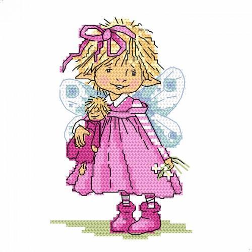 Cross stitch kit - Little elf