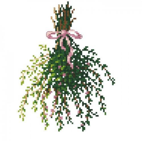 Cross stitch set - Thyme