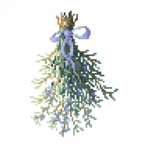 Cross stitch set - Rosemary