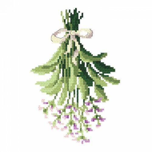 Cross stitch set - Sage