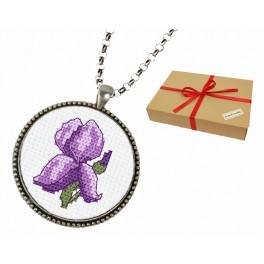 ZP 10079 Gift set - Medallion with an iris