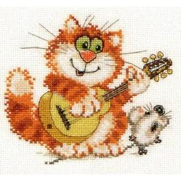 Cross stitch set - Sing the song