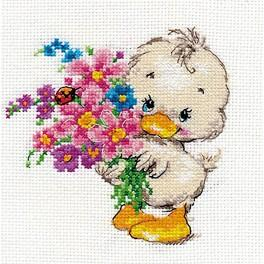 Cross stitch kit - Wish you happiness