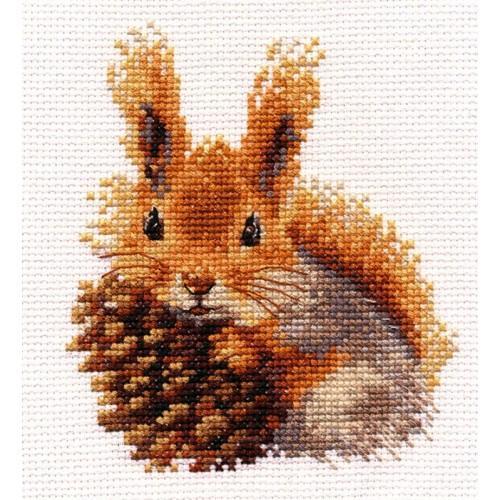 Cross stitch set - Squirrel