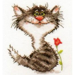Cross stitch kit - Kitten