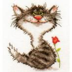 Cross stitch set - Kitten
