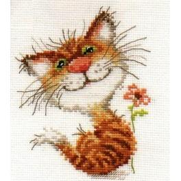 Cross stitch set - Pussycat