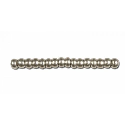 Preciosa metallic beads Rocailles (2,3mm)