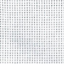 Kanevas AIDA - Größe 54/10cm (14 ct) Tajlur white