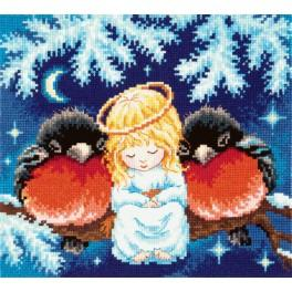 Cross stitch set - Christmas tale