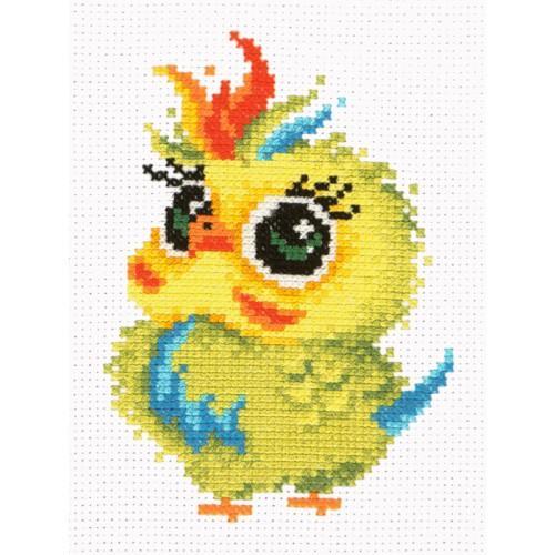 Cross stitch set - Little parrot