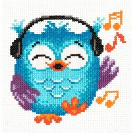 Cross stitch kit - Owlet