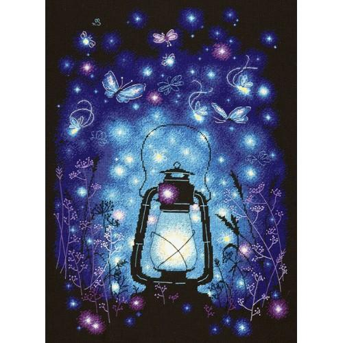 Cross stitch kit - Our magical night