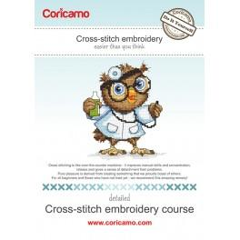 Cross-stitch embroidery course