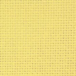 AIDA 54/10cm (14 ct) - sheet 20x25 cm yellow