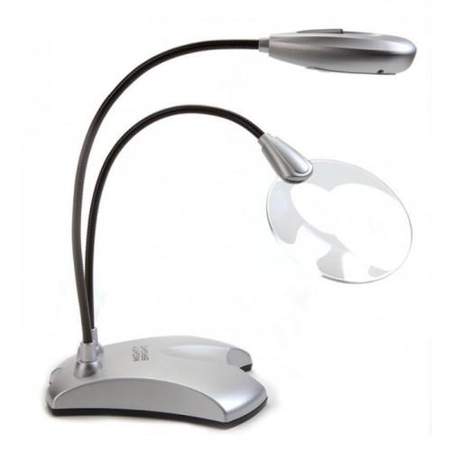 Mini magnifying glass with LED lamp 2