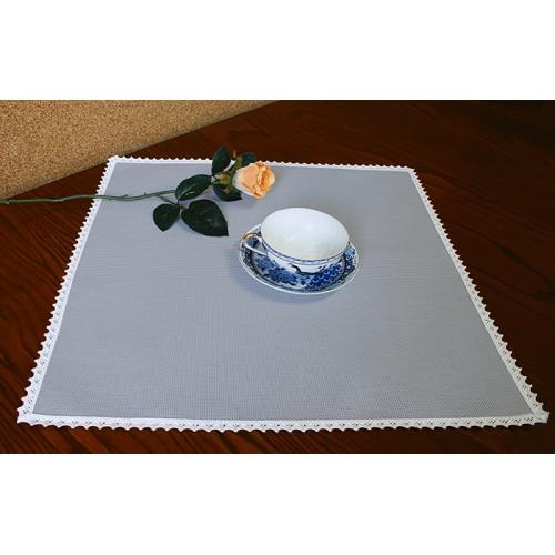 978-12 Napkin Aida 45x45 cm (1,5x1,5 ft) grey