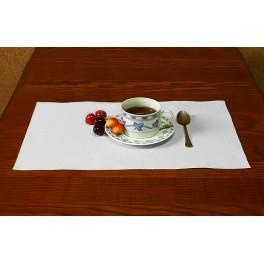 Napkin Aida 45x30 cm (1,5x1,3 ft) white