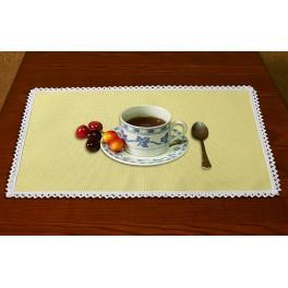 Napkin Aida 45x30 cm (1,5x1,3 ft) yellow